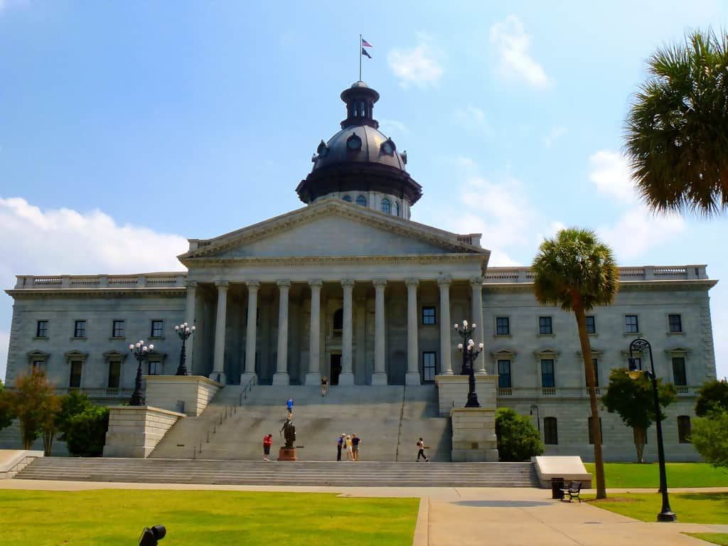 The South Carolina State Capital Building